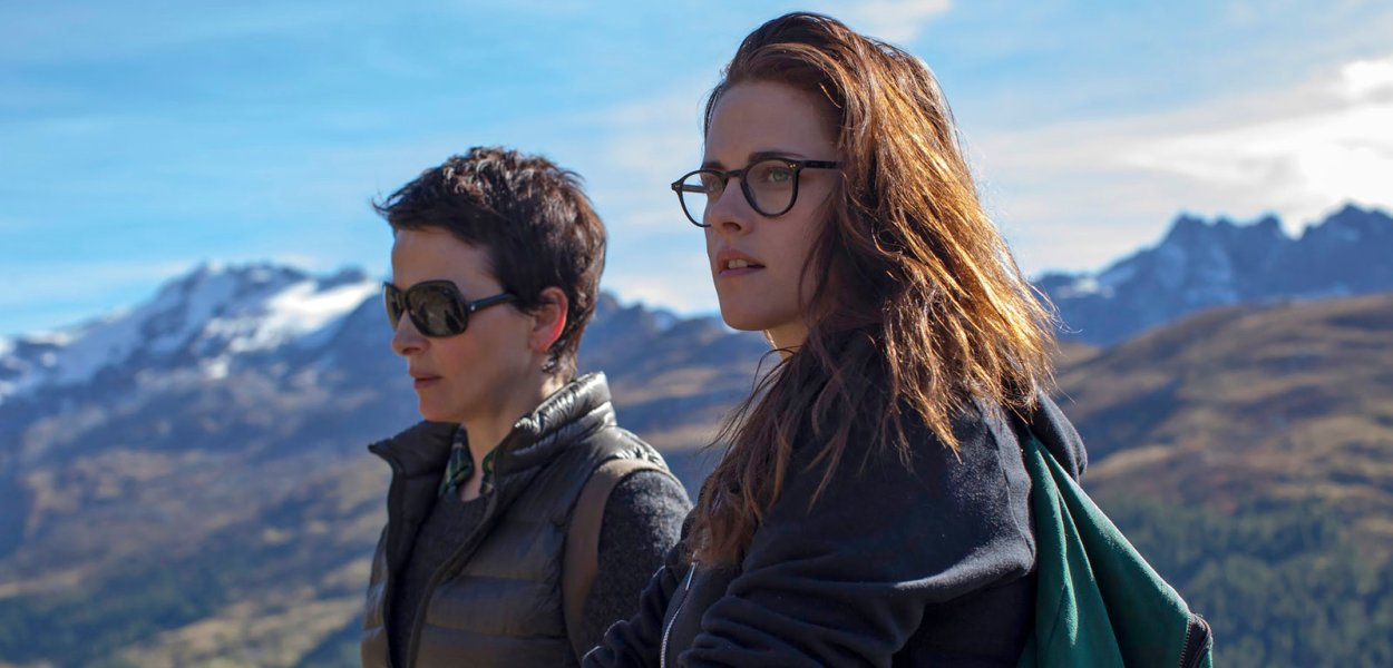 Juliette Binoche and Kristen Stewart in Clouds of Sils Maria