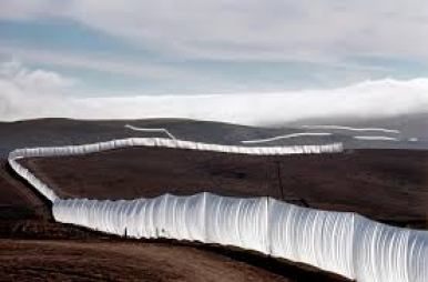 Christo Jeanne-Claude Running Fence