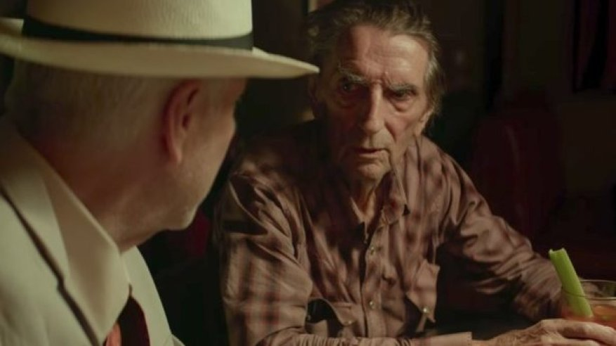 David Lynch and Harry Dean Stanton in Lucky