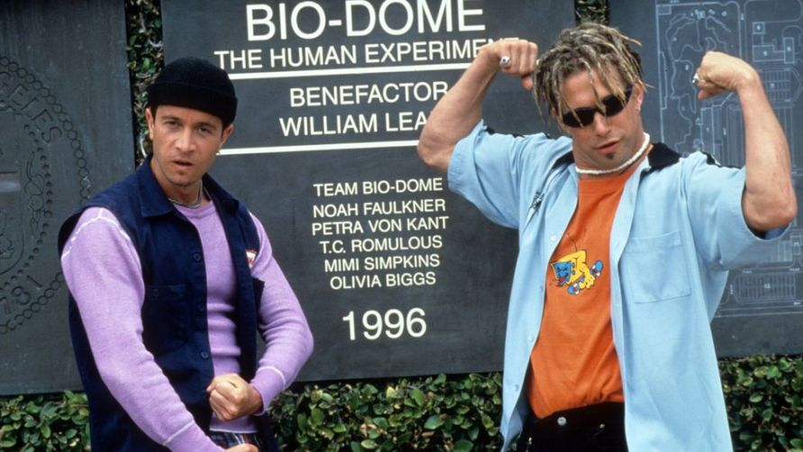 Pauly Shore and Stephen Baldwin in Bio-Dome