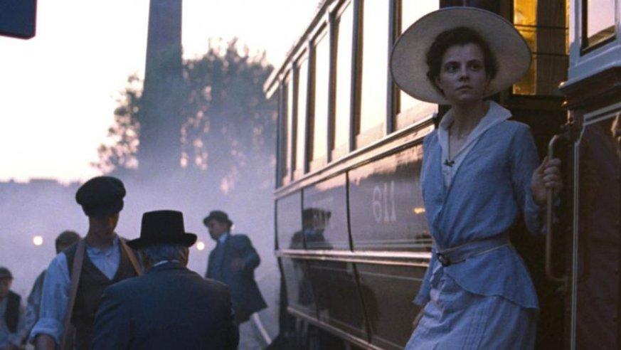 Juli Jakab in Sunset (2019), directed by László Nemes