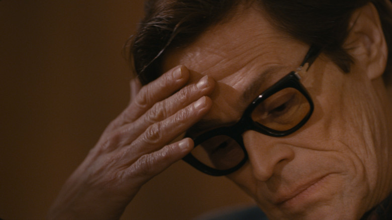Willem Dafoe as Pier Paolo Pasolini in Pasolini