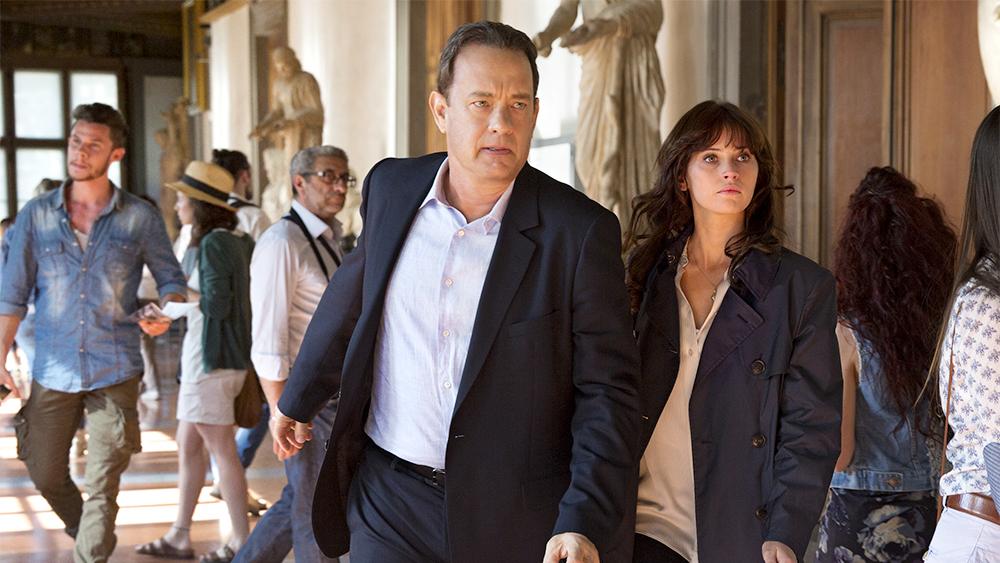 Inferno Tom Hanks Felicity Jones