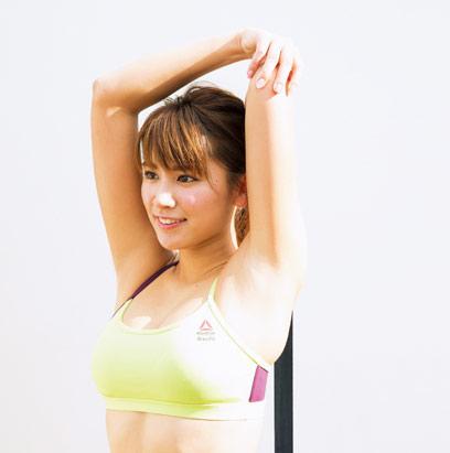 痩せる!むくみ改善効果のあるリンパストレッチのやり方