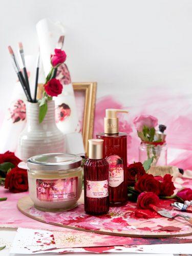 SABONのバレンタインは幸せを呼ぶピンクのローズ!誰もが心奪われる