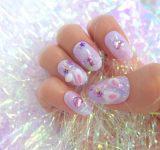 春のジェルネイルデザイン16選|お花・派手め・シンプルな単色などトレンドセルフネイル集