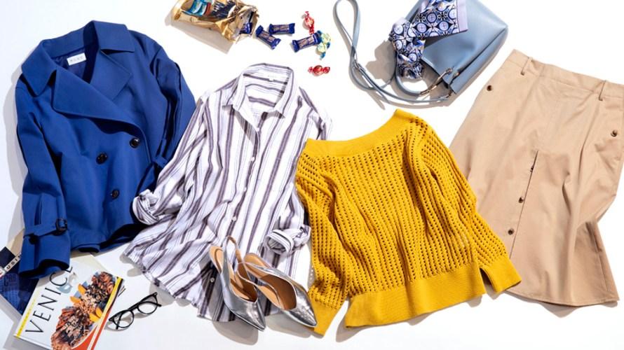 【明日なに着る?】ブラウス感覚で着られる♡洗えるカットソーが使えます!