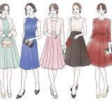 結婚式のお呼ばれスタイル。恥をかかない服装マナーとは【イラスト付き】