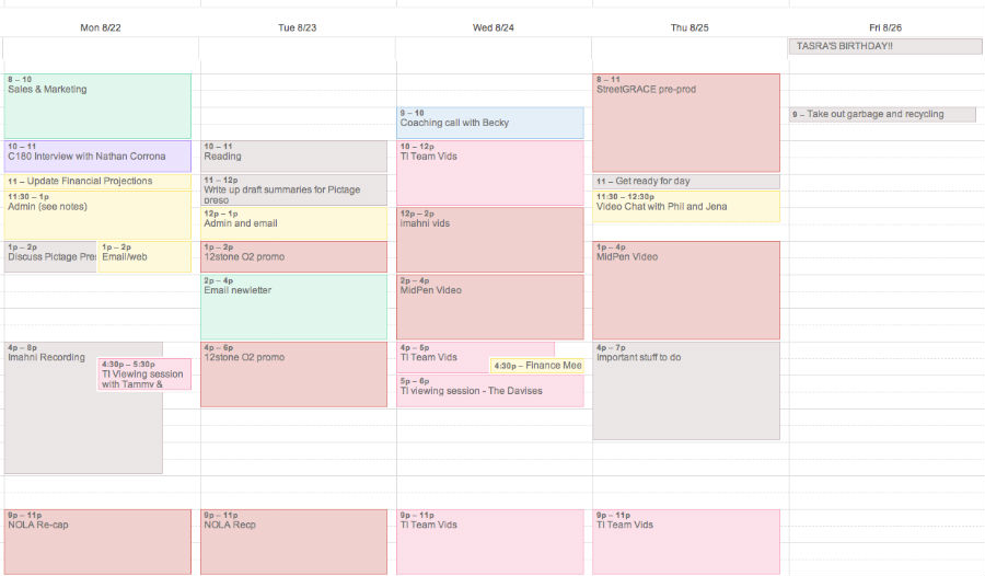 The Benefits of a Detailed Post Production Schedule - Dare