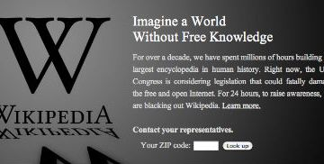 The Fight Against PIPA and SOPA