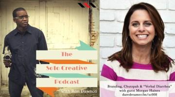 SC008 – Morgan Haines on Branding, Chutzpah and Verbal Diarrhea