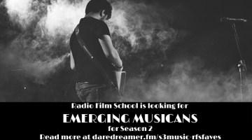 Saturday Song Selection – Radio Film School Faves