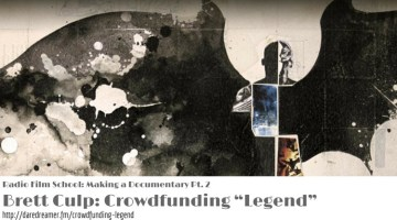 "Making a Documentary Pt. 2—Brett Culp: Crowdfunding ""Legend"""