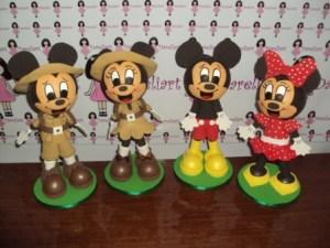 Mickey kit com 4