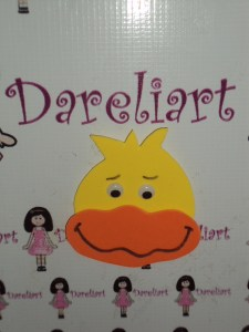 Aplique Pato 8x7 - Dareliart