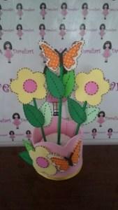 Centro de Mesa Jarro de Flores em Eva - Dareliart (3)