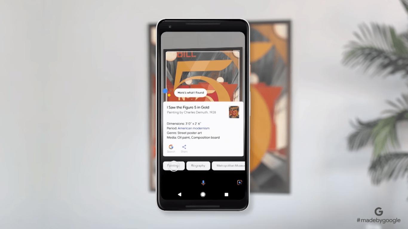 Pixel Google Lens