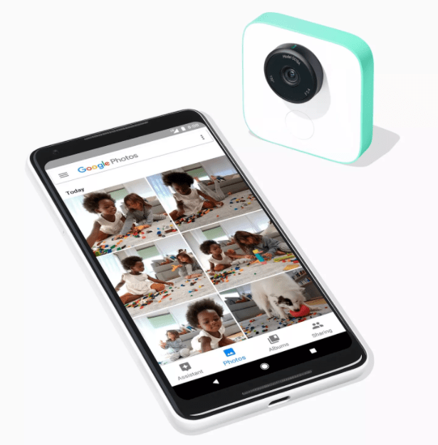 Google Clips with Pixel