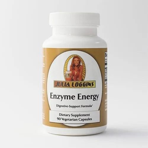 Julia Loggins Enzyme Energy Digestive-Support Formula