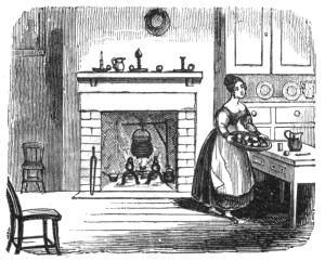 lady baking