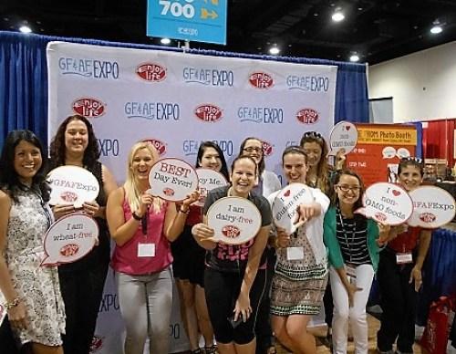 Gluten Free Allergen Friendly Expo find foods you love.