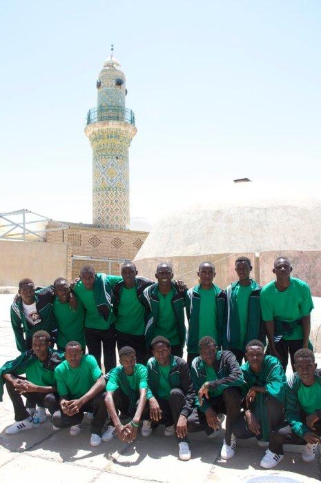 The Team Visits Citadel of Erbil