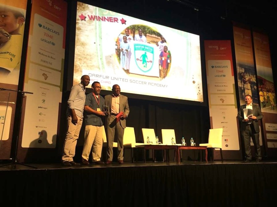 Darfur United Wins Beyond Sport Award