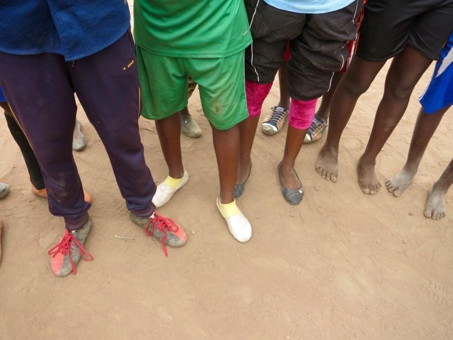 Refugee Feet