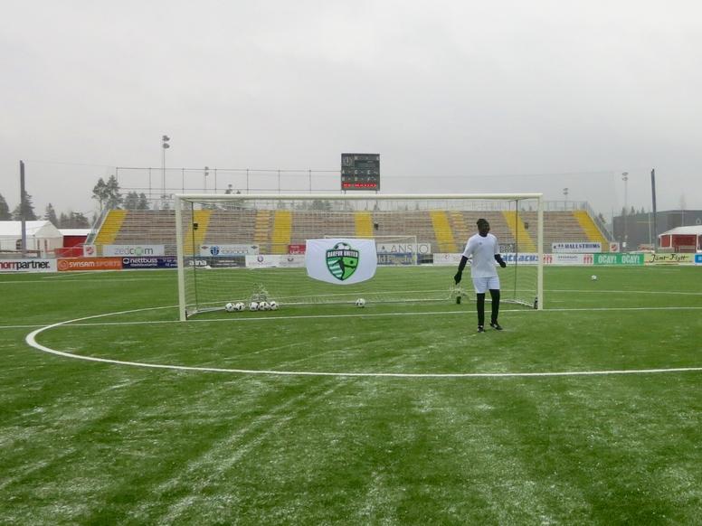 2017 Darfur United Men's Soccer Training Camp in Östersund, Sweden