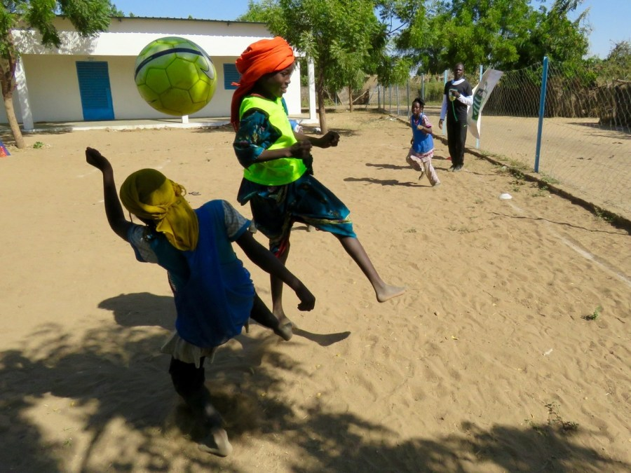Building Soccer Skills, Peace, and Gender Equality
