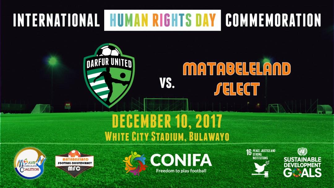 International Human Rights Day Commemoration  Darfur United vs. Matabeleland Select