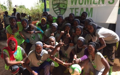 Introducing the Darfur United Women's Team