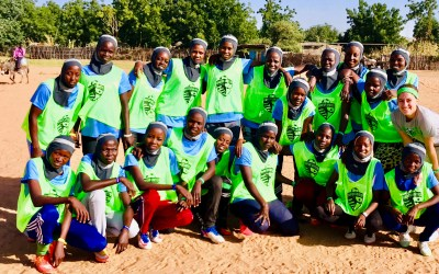 Their community said they couldn't play soccer. Now, they are  the first Darfur United Women's Team