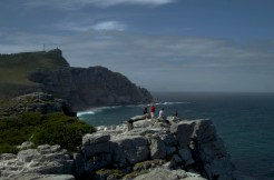 At the Cape of Good Hope, looking towards Cape Point.