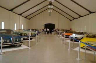 The Alfa Romeos at Franschhoek.