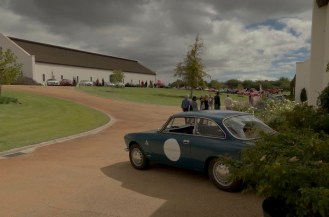 Alfa Club members from all over the country on the Rupert's estate.