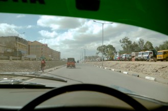 Arriving in Athi River.