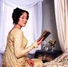 JENNIFER EHLE as Elizabeth Bennet in the BBC adaptation of the Jane Austen novel 'Pride and Prejudice', 1995.