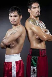 Manny Pacquiao and Anotio Margaritio