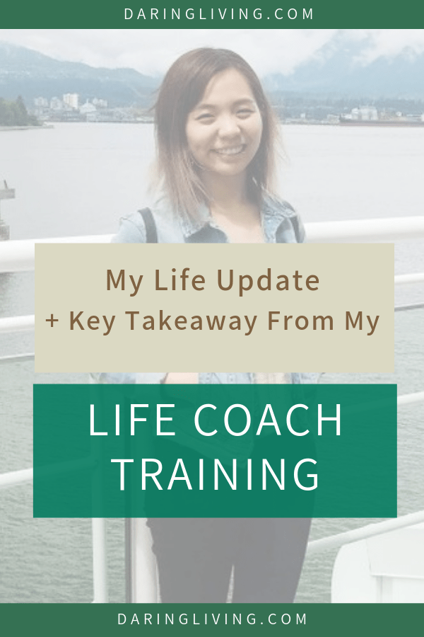 Important lesson I learned from life coach certification training + my current life update. #daringliving #lifecoach #lifecoaching #personaldevelopment #selfhelp #selfgrowth #priorities #timemanagement #bloggers #mindfulness