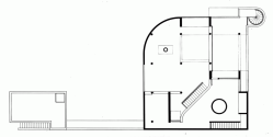 5331ee66c07a808489000006_ad-classics-saltzman-house-richard-meier-partners-architects_rmp_saltzman_house-upper_level_floor_plan-1000x506