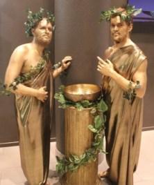 Живые статуи - древние греки