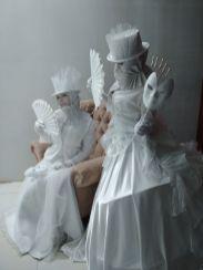 Венецианские живые статуи - 2