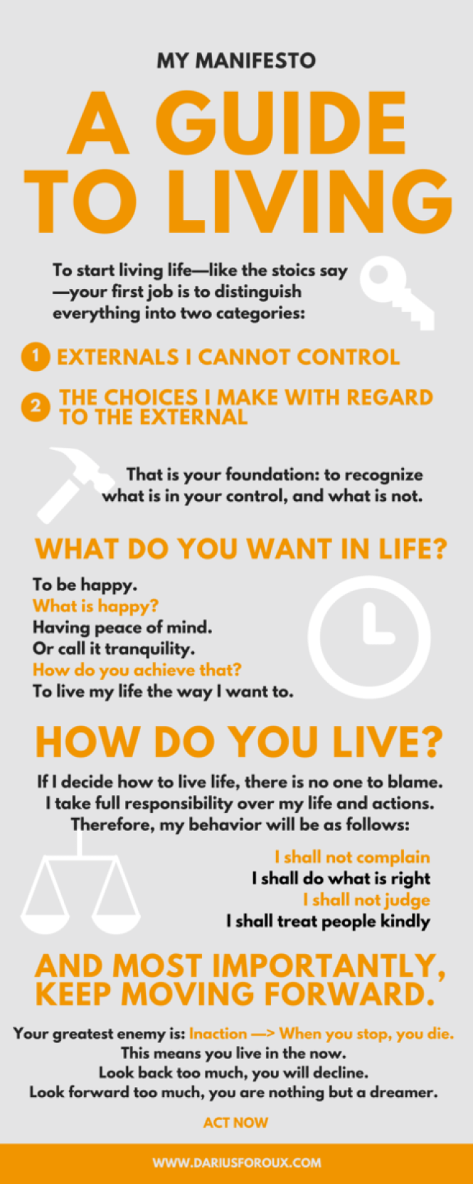 A guide to living