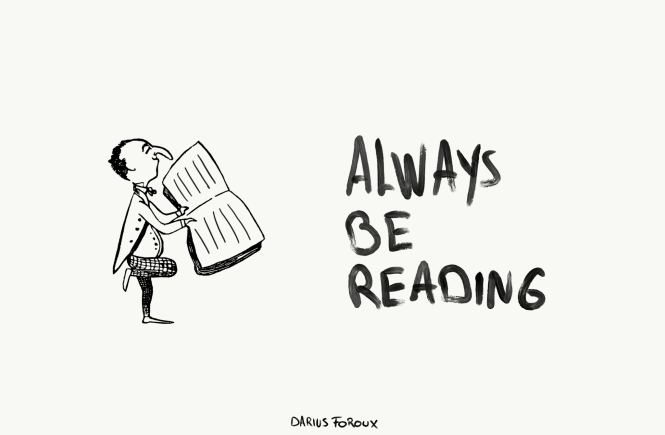 always be reading