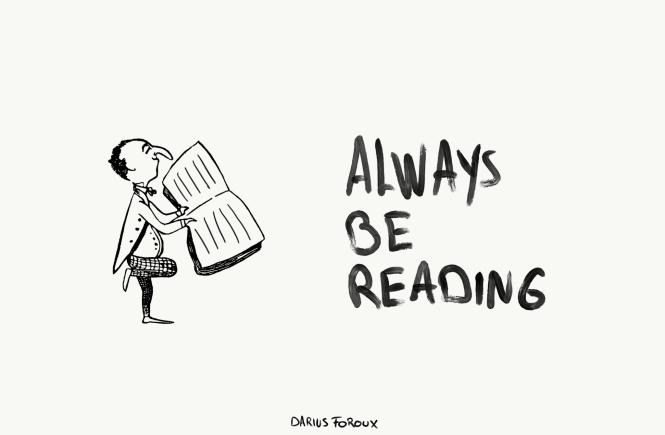 always be reading