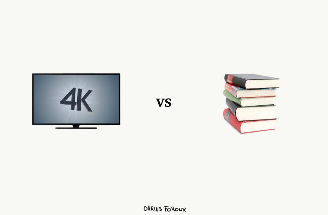 4k vs books