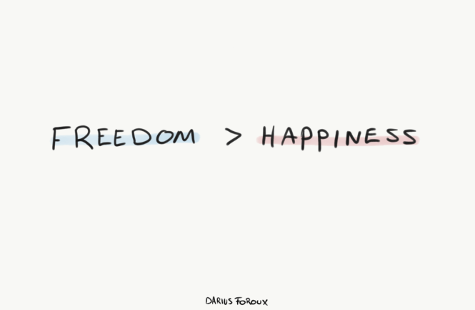 freedom happiness