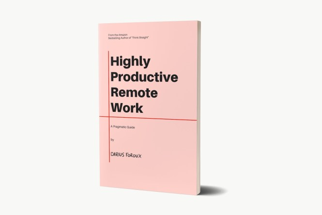Highly Productive Remote Work book