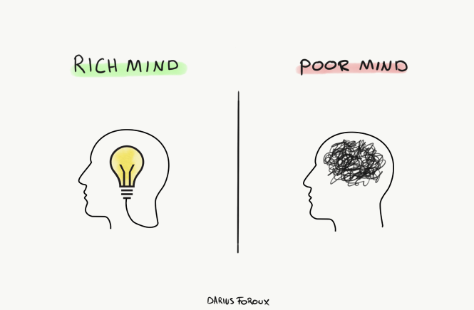 rich mind poor mind